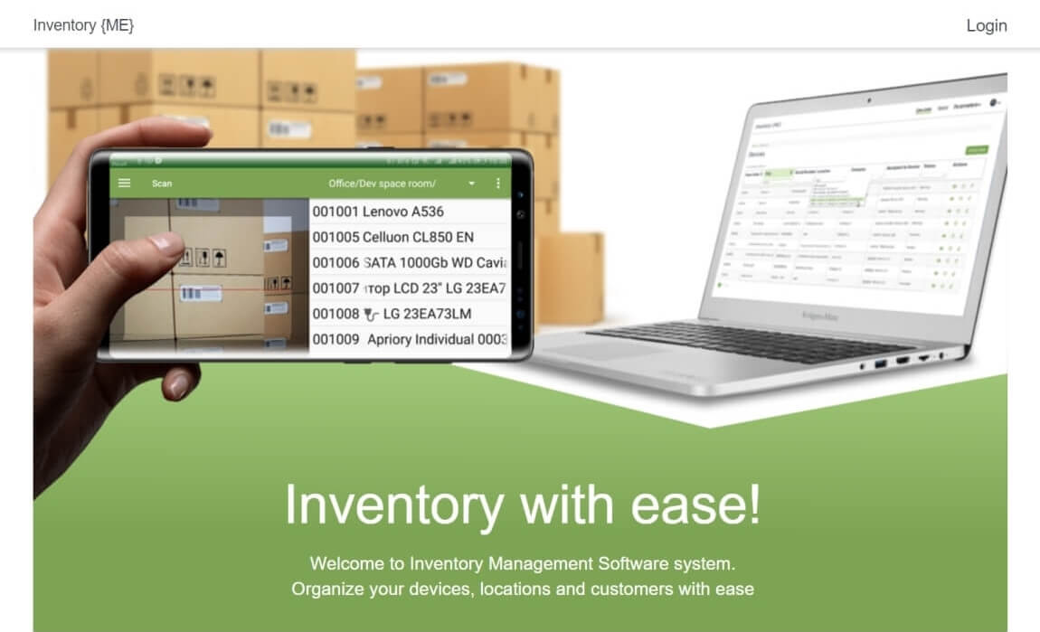 Inventory Web Server project