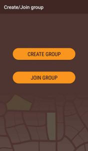 Group Tracker create/join group