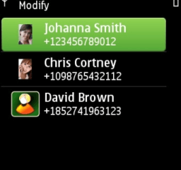 Message In Time Symbian screen 3